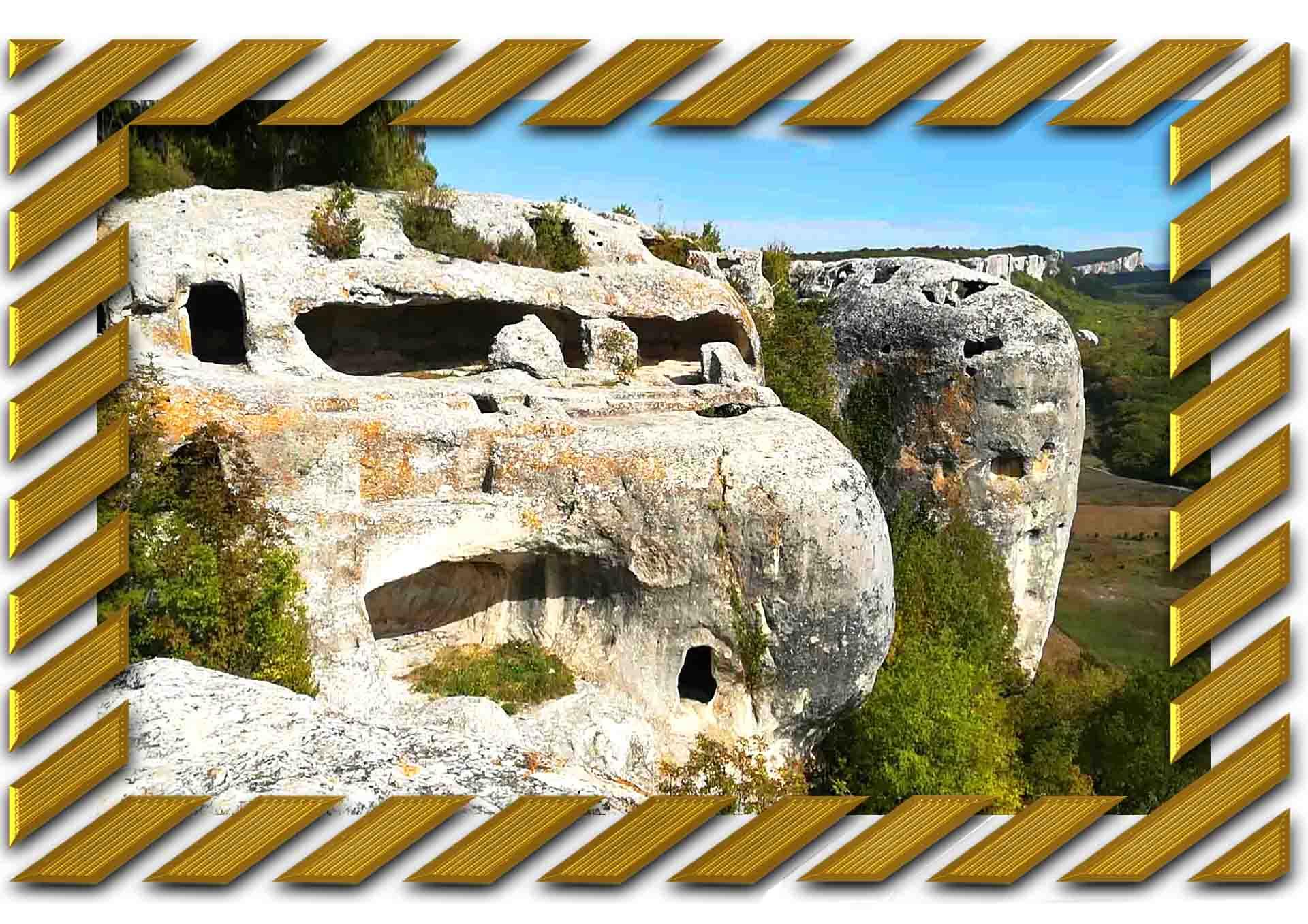 джип тур из Алушты в пещерные города