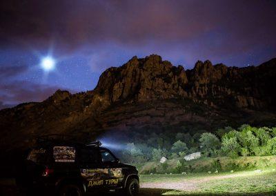 Джип тур на демерджи ночью