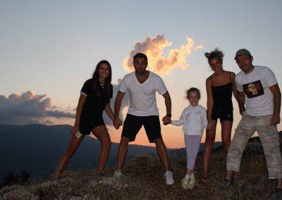 Семейный отдых в горах на демерджи