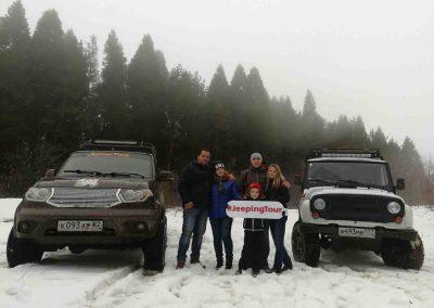 Джиппинг в Крыму зимой