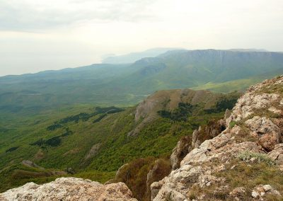 С вершины горы Каратау