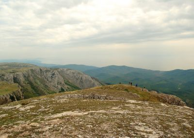 С вершины Каратау