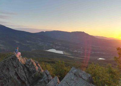 Джип тур - встреча рассвета в горах