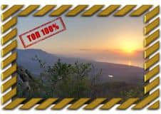 Рассветы в горах Крыма на горе Ай-Йори