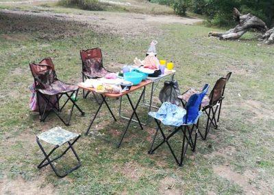 Пикник в горах Крыма