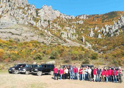 Джипинг-тур Алушта Крым